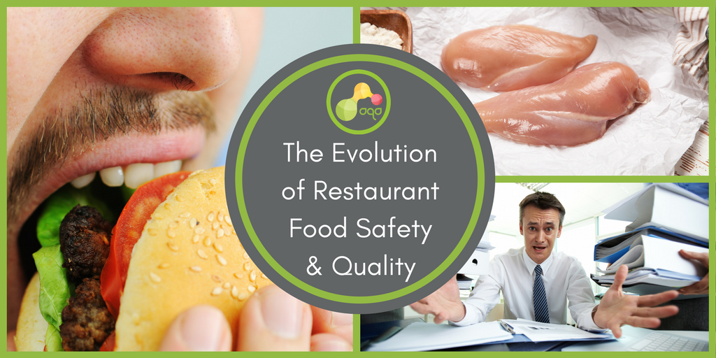 The Evolution of Restaurant Food Safety & Quality (Infographic)